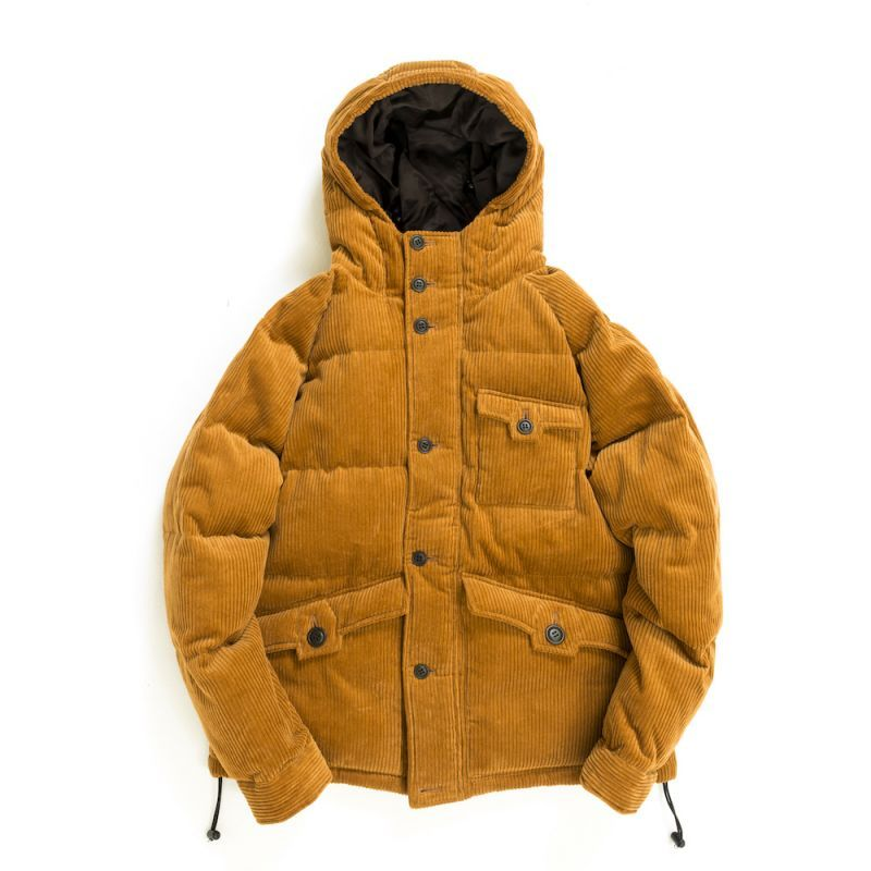 画像1: HEXAGONAL DOWN JACKET CAMEL