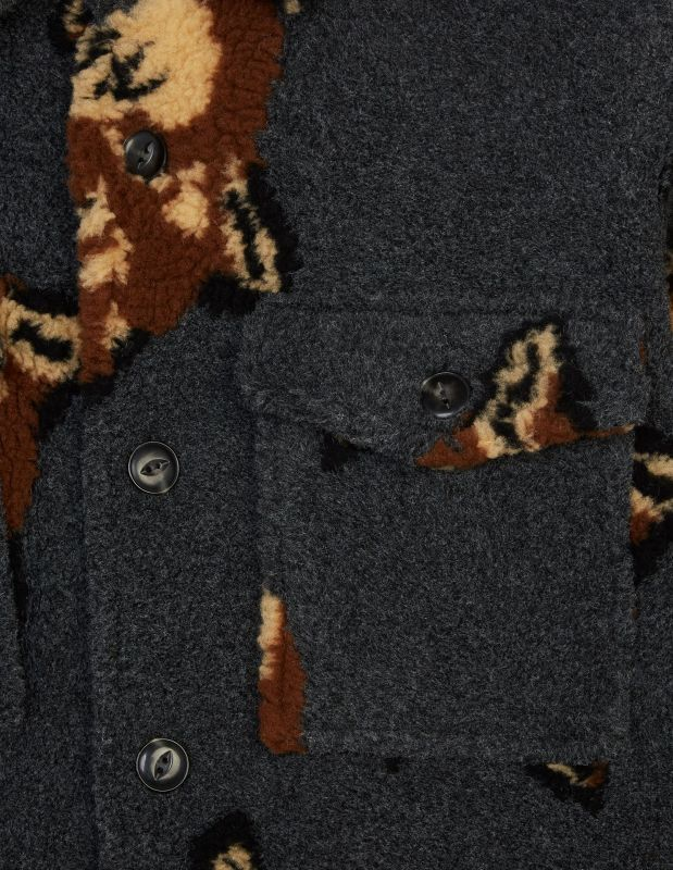 画像3: ALL-OVER FOX HEAD JOHN OVERSHIRT