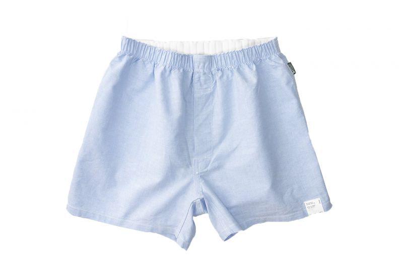 画像1: KILMARNOCK Oxford Shorts SAX BLUE (1)