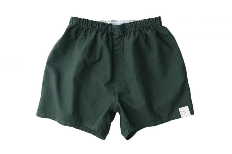 画像1: KILMARNOCK Oxford Shorts DEEP GREEN (1)
