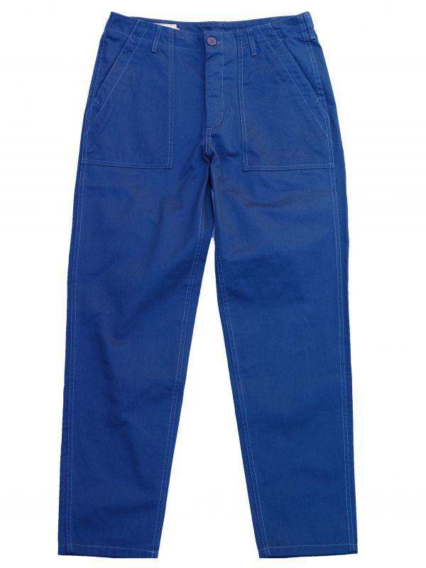 画像1: WORKER PANT BLUE (1)