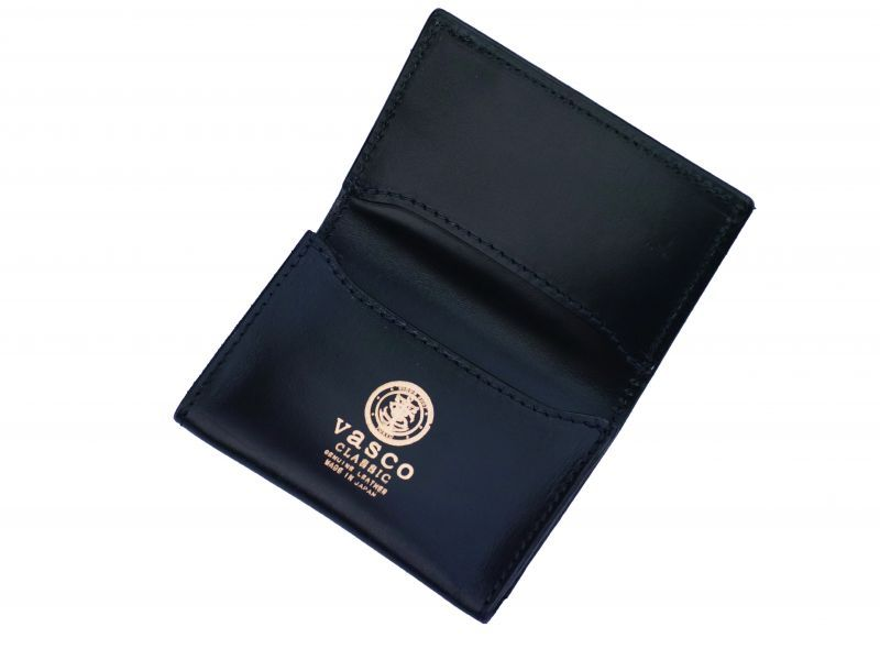 画像1: vasco×HOMEDICT ROYAL CARD CASE NAVY (1)