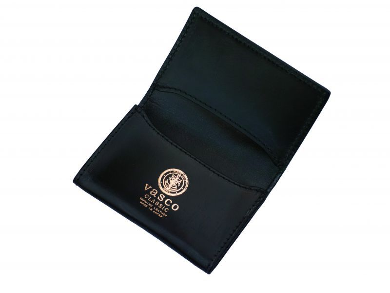 画像1: vasco×HOMEDICT ROYAL CARD CASE BLACK (1)