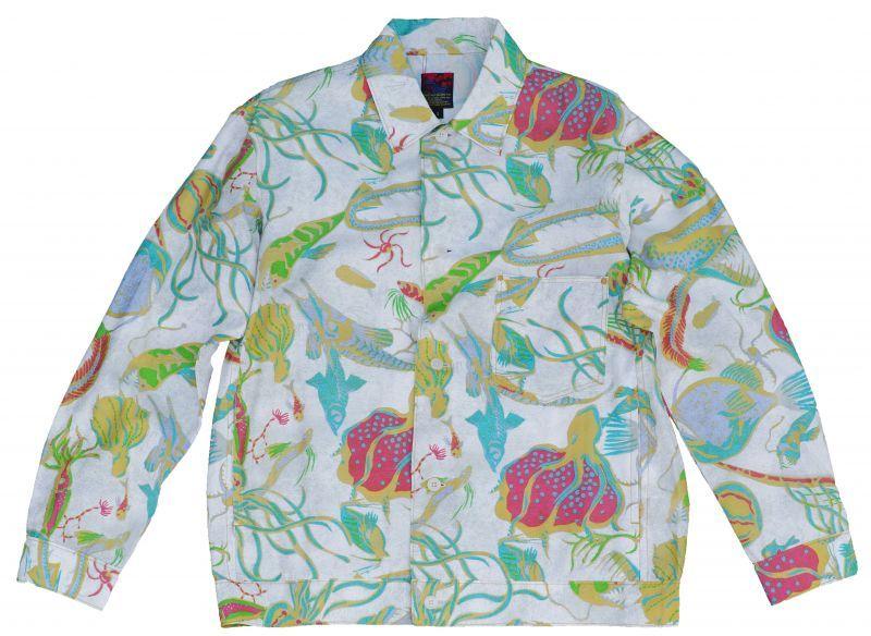 画像1: 深海ジャンシャツ WHITE (1)