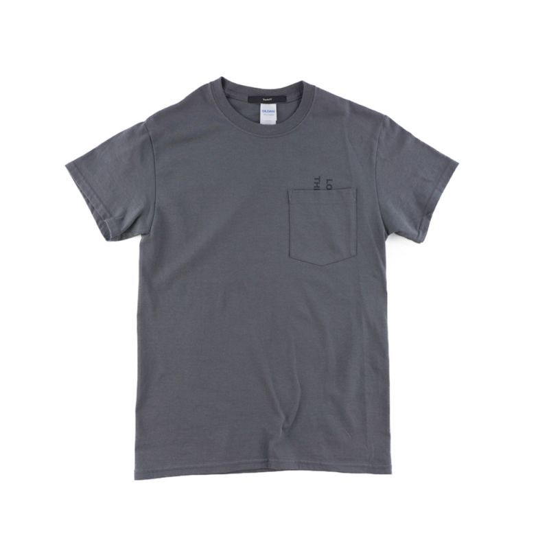 画像1: THE BACK T-SHIRTS CHARCOAL GRAY (1)