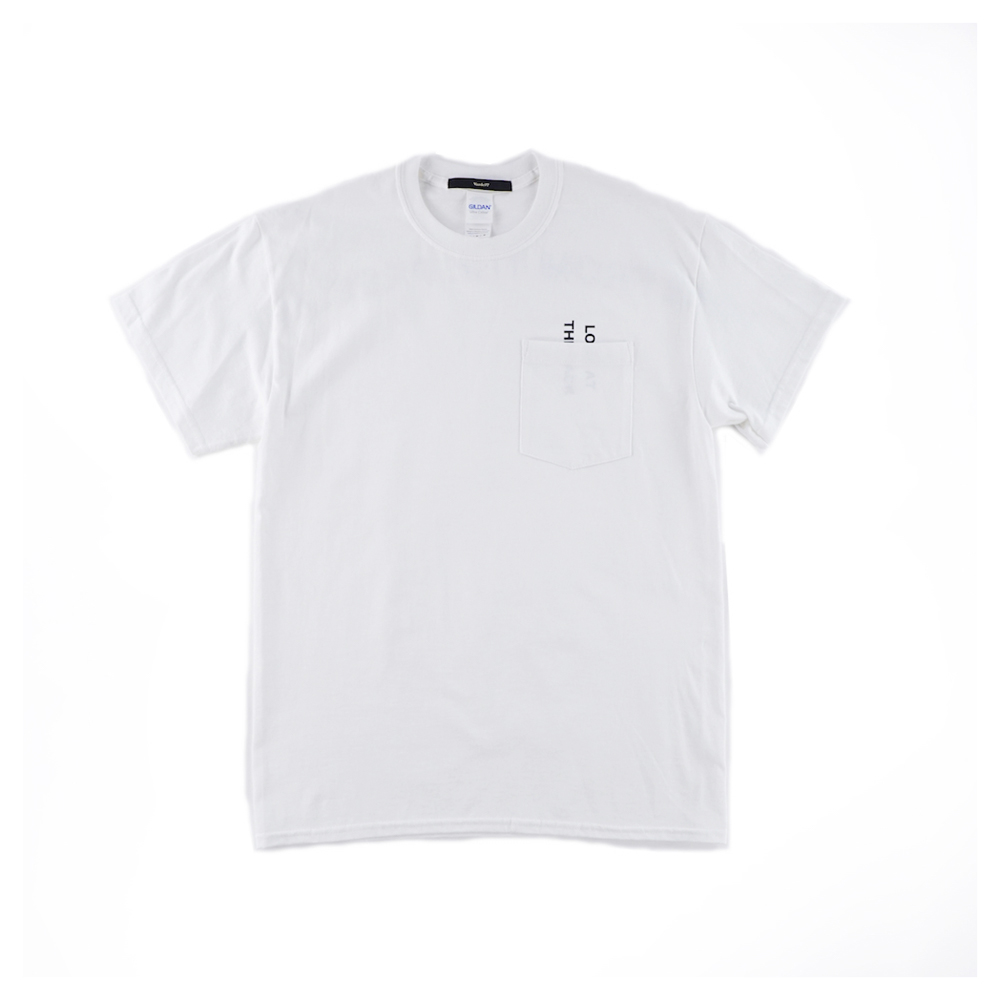 画像1: THE BACK T-SHIRTS WHITE (1)