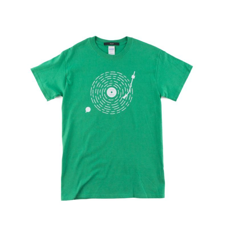 画像1: EMOTION RECORDS T-SHIRTS GREEN (1)