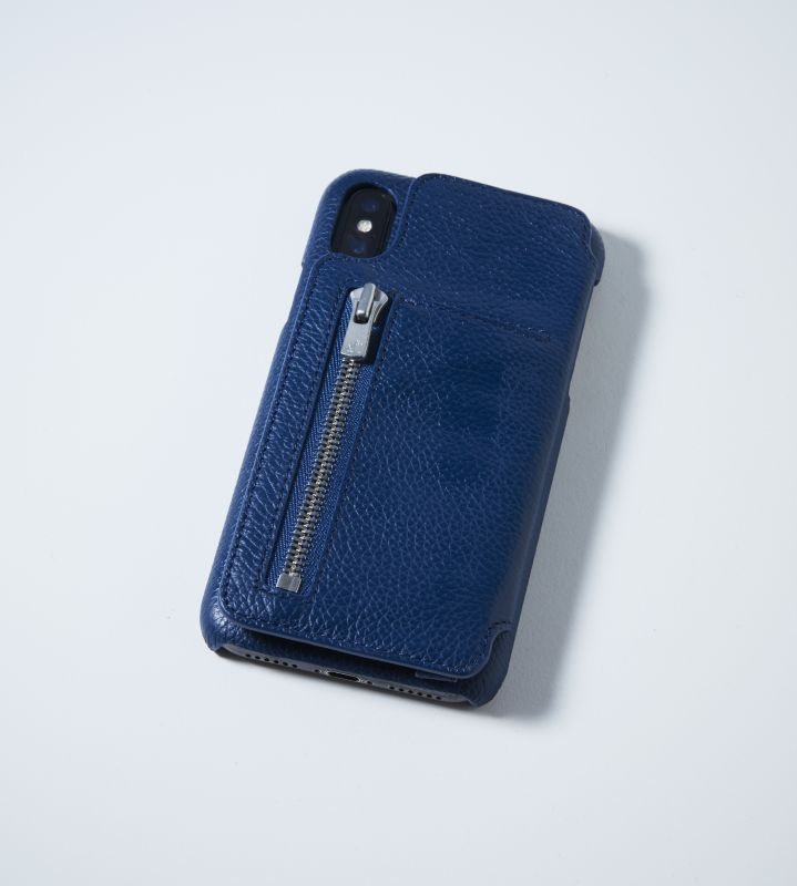 画像1: BIRTH Demiurvo i-PHONE CASE NAVY (1)