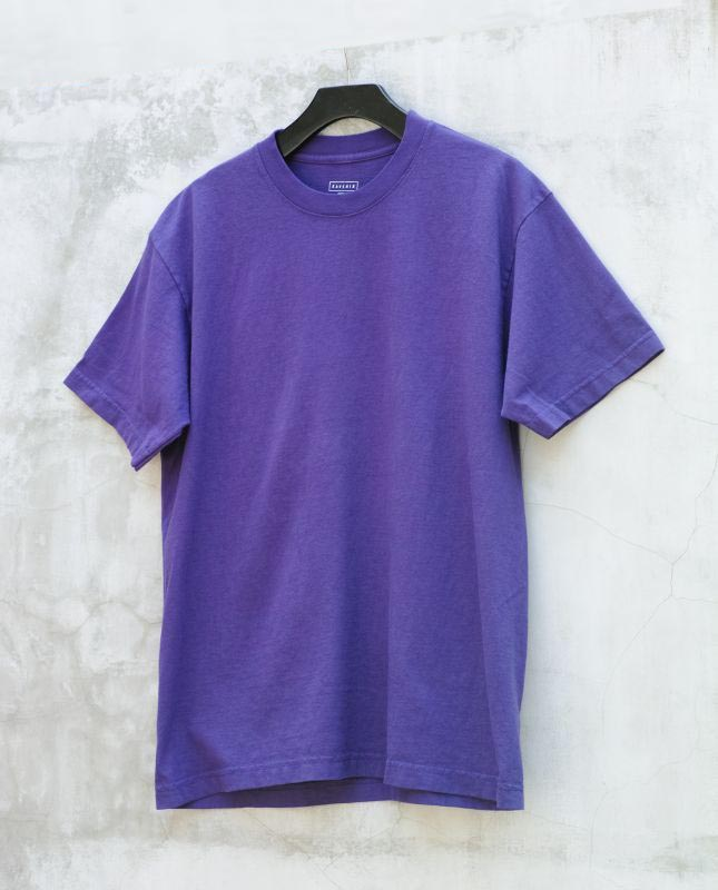 画像1:  RAVENIK-USA made-T-SHIRTS PURPLE (1)