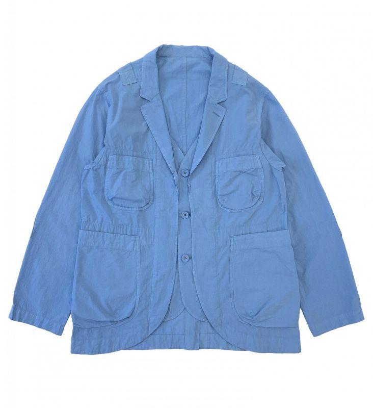 画像1: BRU NA BOINNE リトルリップジャケット SAX BLUE (1)
