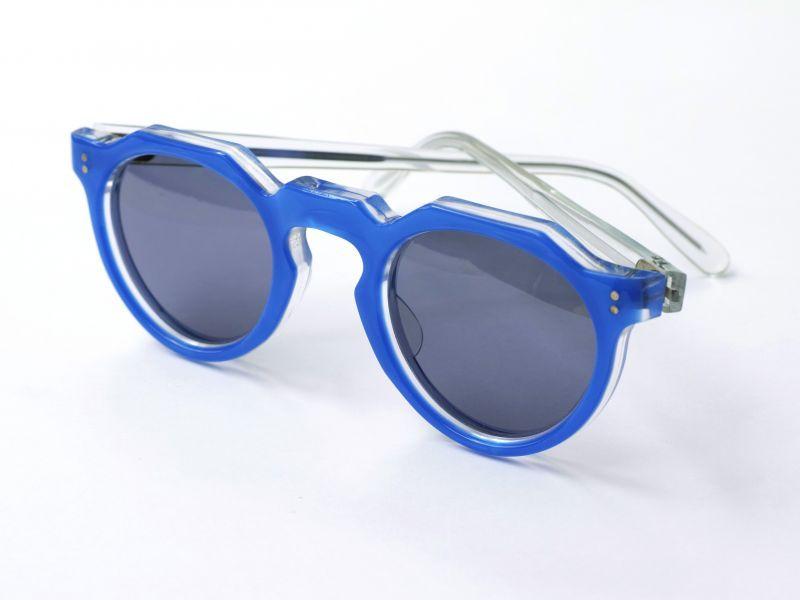 画像1: LESCA VINTAGE CROWNPANTO BLUE/CLEAR (1)