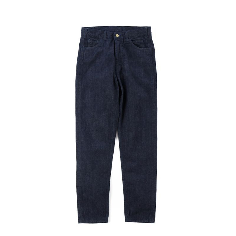 画像1: VARDE77 PARE AWAY STANDARD SLIM DENIM PANTS BLUE ONEWASH (1)