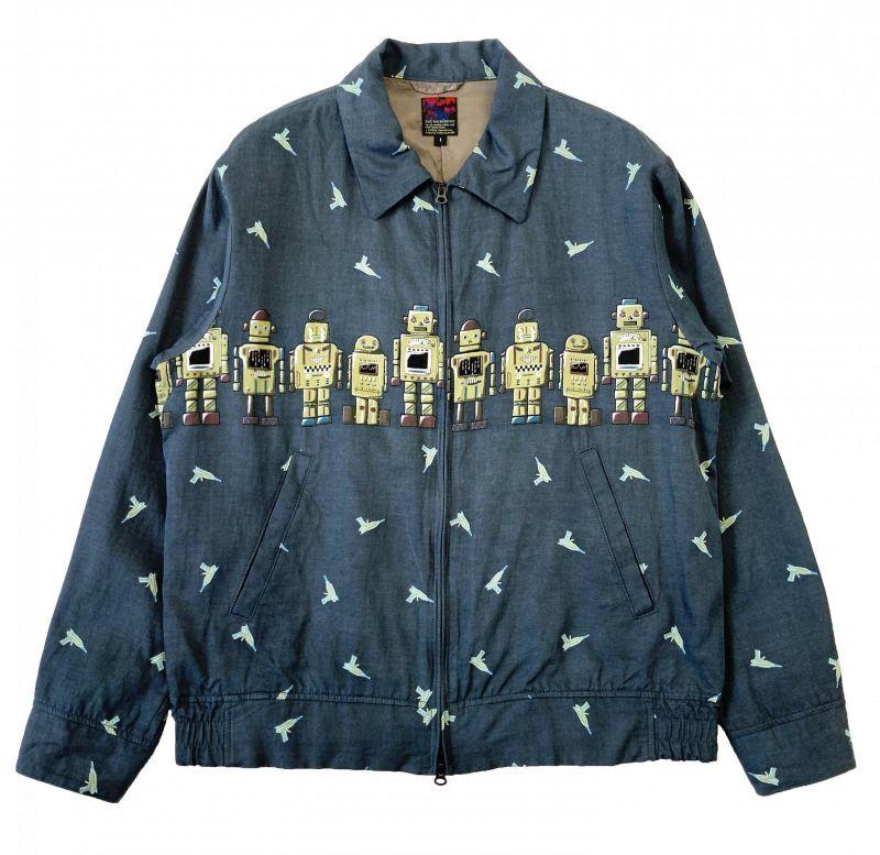 画像1: BRU NA BOINNE ROBOT-Eジャケット GRAY (1)
