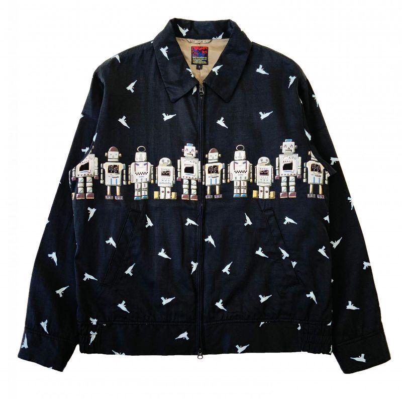 画像1: BRU NA BOINNE ROBOT-Eジャケット BLACK (1)