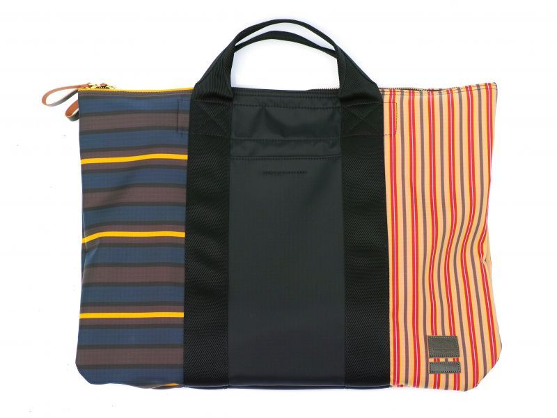 画像1: M A R N I PORTER 2WAY SHOULDER BAG MULTISTRIPE (1)