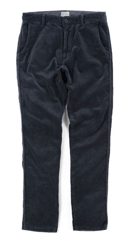 画像1: VARDE77 TAPERED CORDUROY PANTS CHARCOAL GRAY (1)