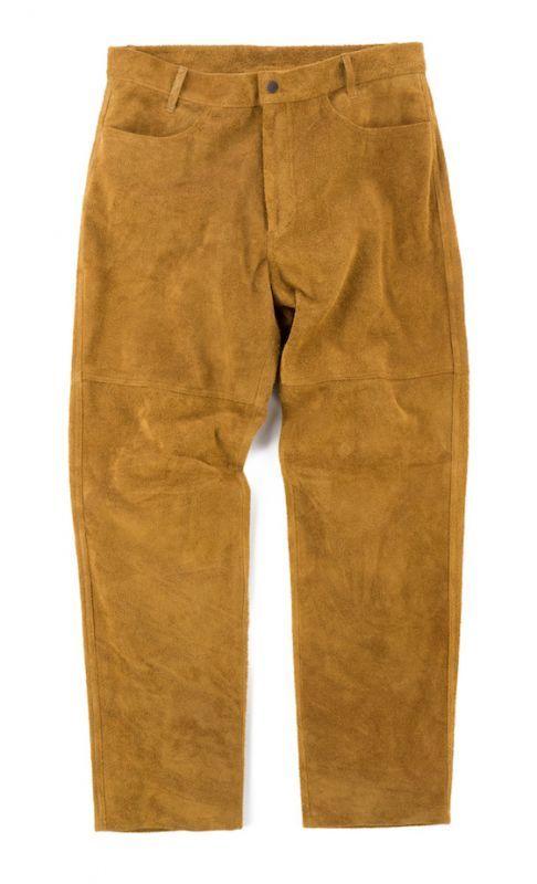 画像1: VARDE77 VINTAGE SUEDE PANTS  (1)