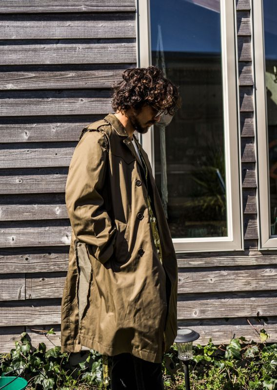 画像1: VARDE77 FORCIBLE TRENCH COAT (1)