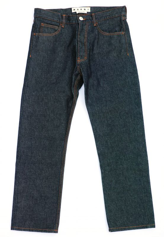 画像1: M A R N I  STANDARD DENIM PANTS (1)