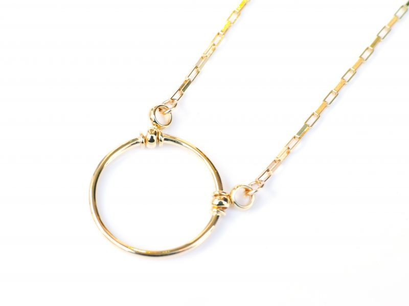 画像1: GOLD FILLED JEWELRY PETITE (1)