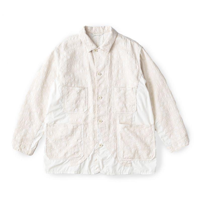 画像1: BRU NA BOINNE ピンケットコウモリジャケット OFF WHITE (1)