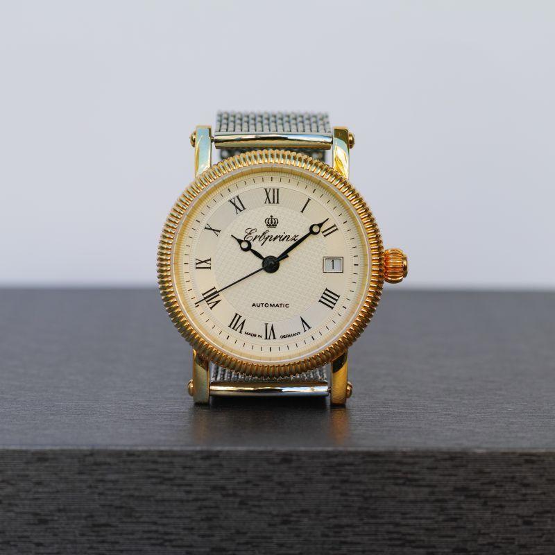 画像1: ERBPRINZ AOUTOMATIC WATCH GOLD (1)