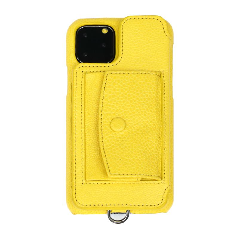 画像1: BIRTH POCHE Demiurvo i-PHONE CASE YELLOW (1)