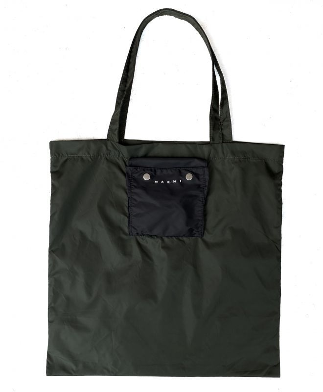 画像1: M A R N I PACKABLE TOTE BAG (1)