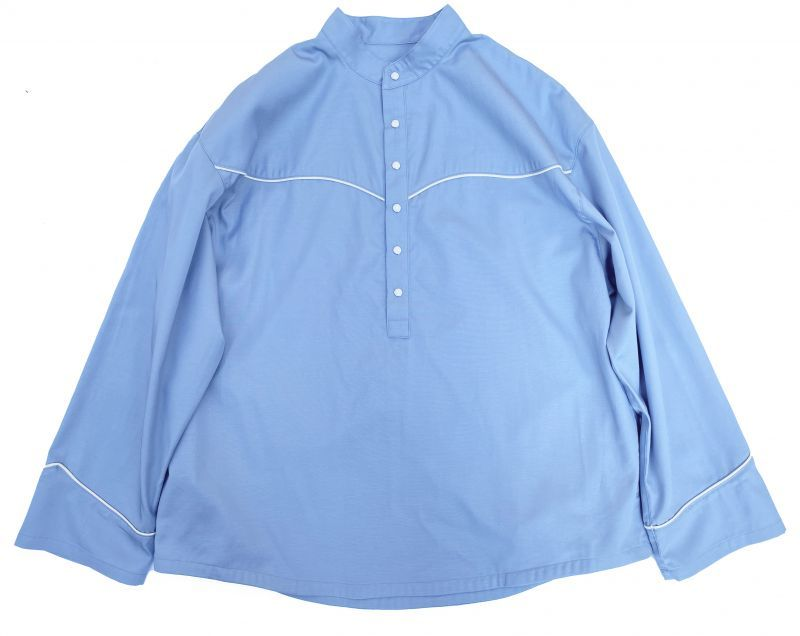 画像1: VARDE77 PULLOVER WESTERN SHIRTS LIGHT BLUE (1)