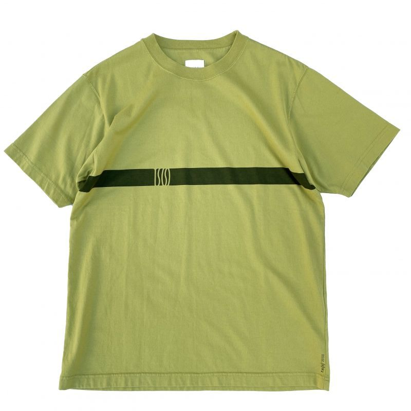 画像1: ts(s) 40/2 Classic Cotton Jersey / Line Print T-shirt PISTACHIO (1)