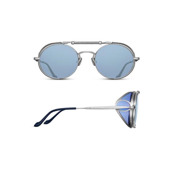 画像1: MATSUDA EYEWEAR  2809H brushed silver blue (1)