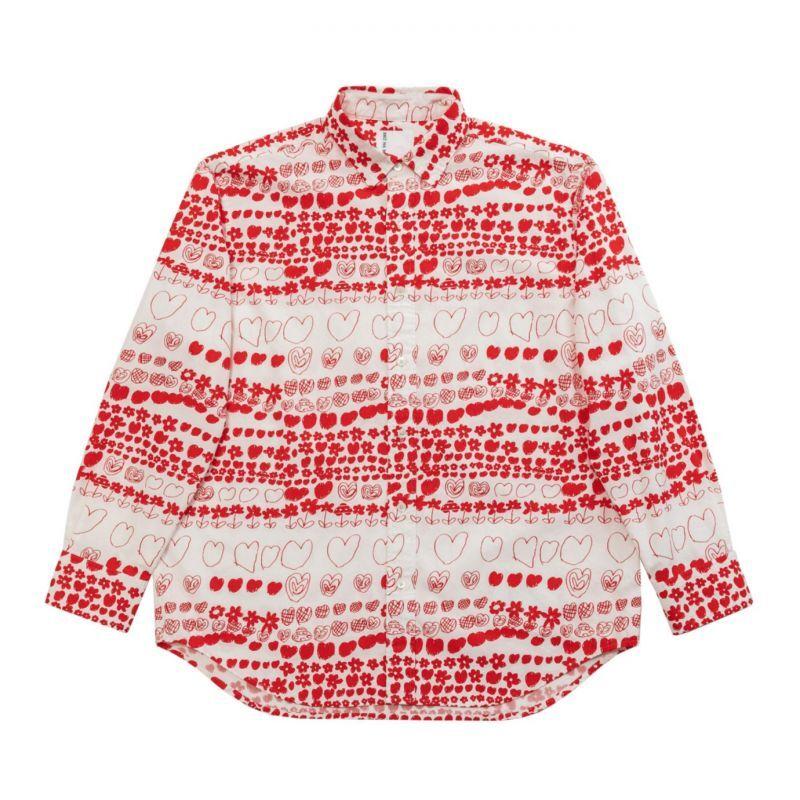 画像1: BRU NA BOINNE  ルーラブーラシャツ RED (1)