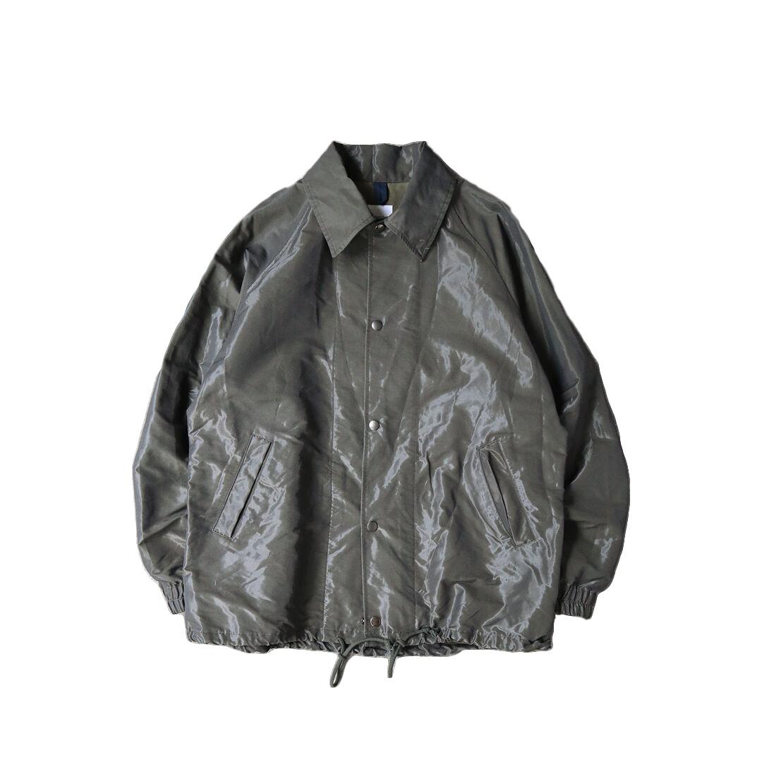 画像1: ts(s) Nylon-Monofilament & Cotton Double Face Cloth / Coach Jacket (1)