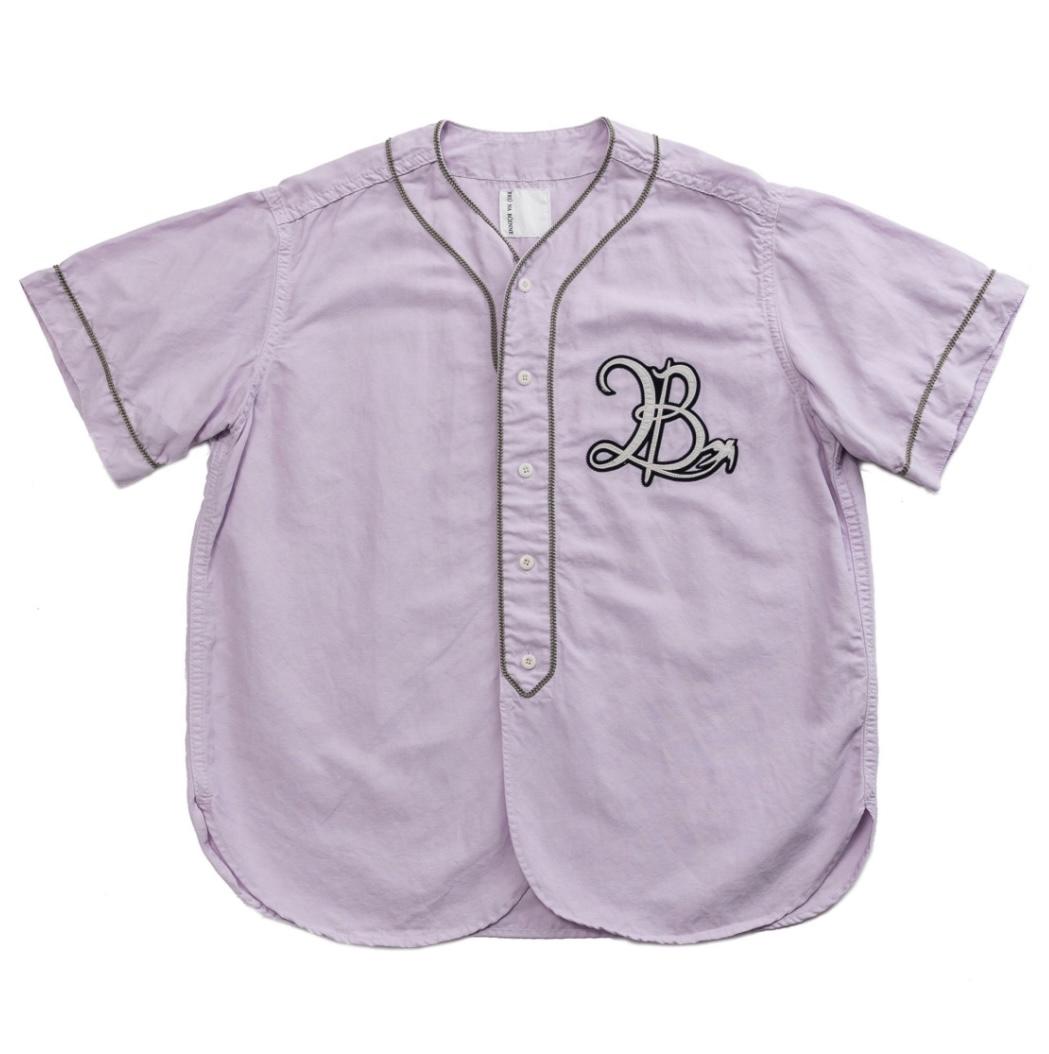 画像1: BRU NA BOINNE プーベースボールシャツ (1)