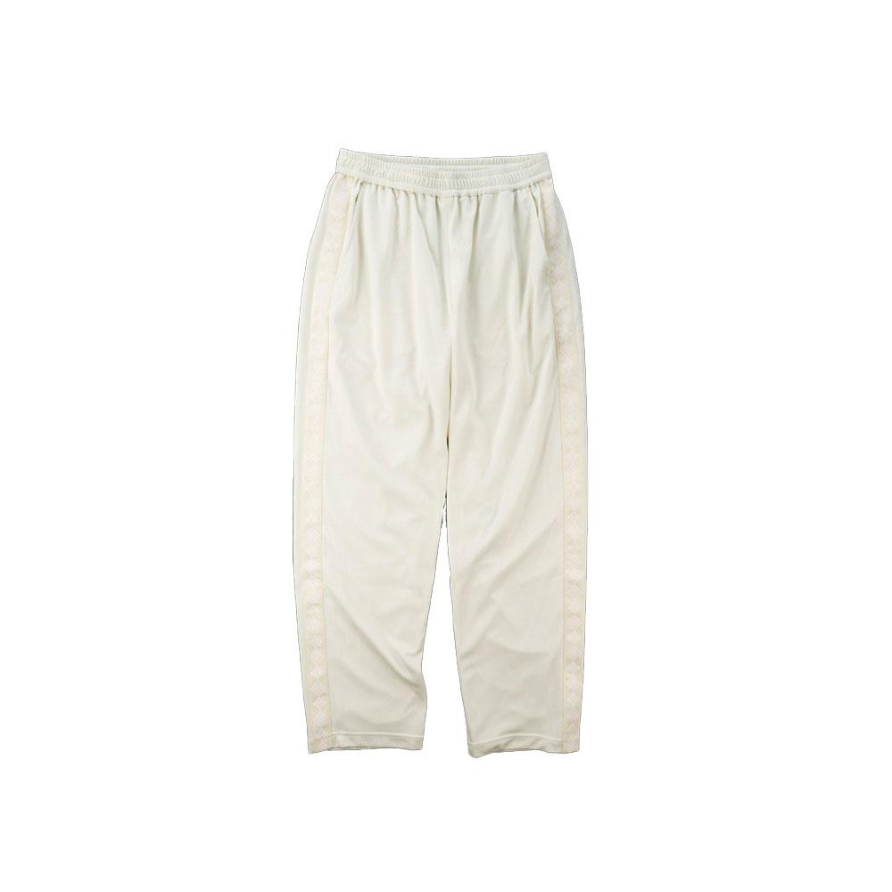 画像1: THE SOURCE MESH TRANING PANTS WHITE (1)