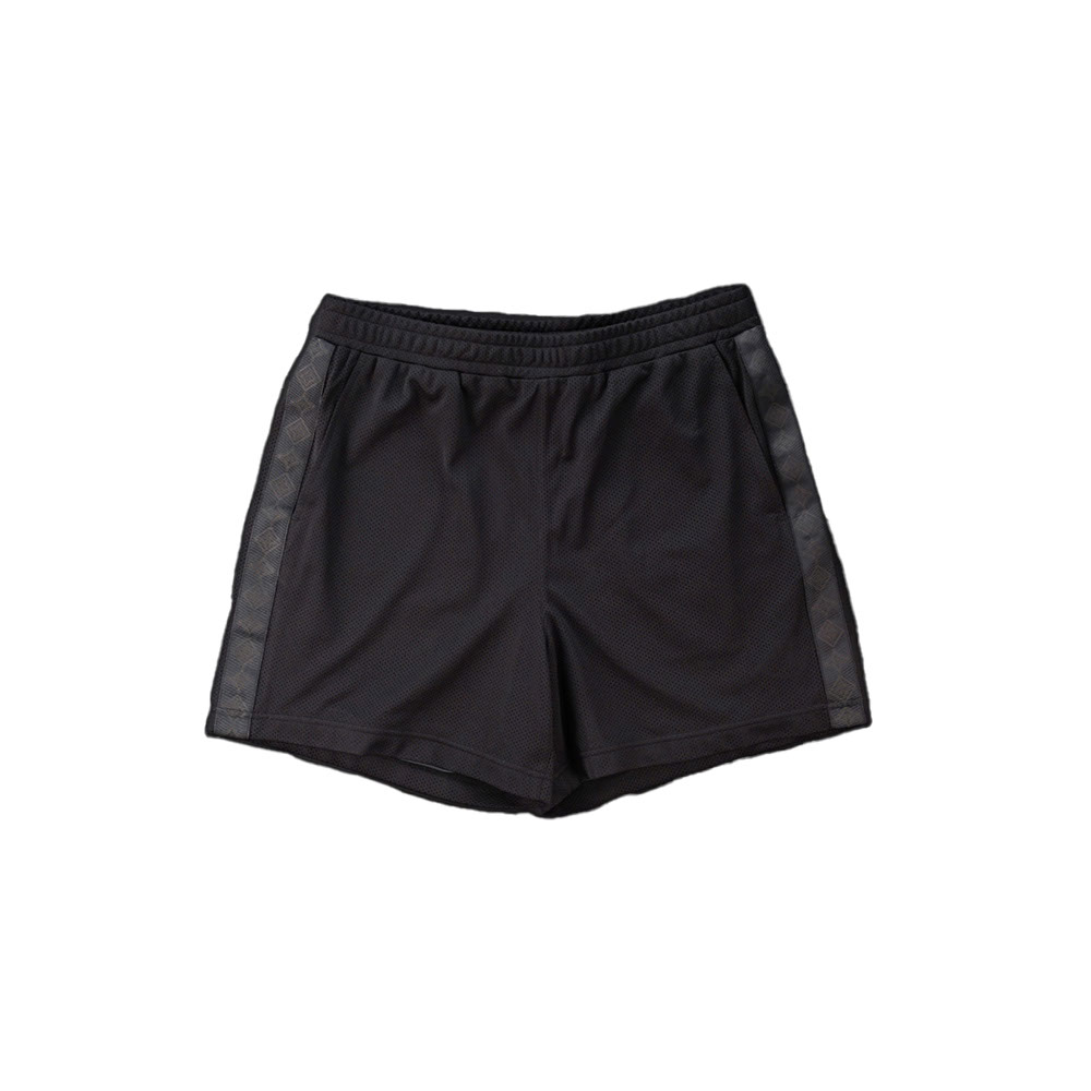 画像1: THE SOURCE MESH TRANING SHORTS BLACK (1)