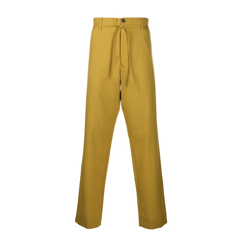 画像1: M A R N I SUMMER WOOL STRAIGHT PANTS (1)