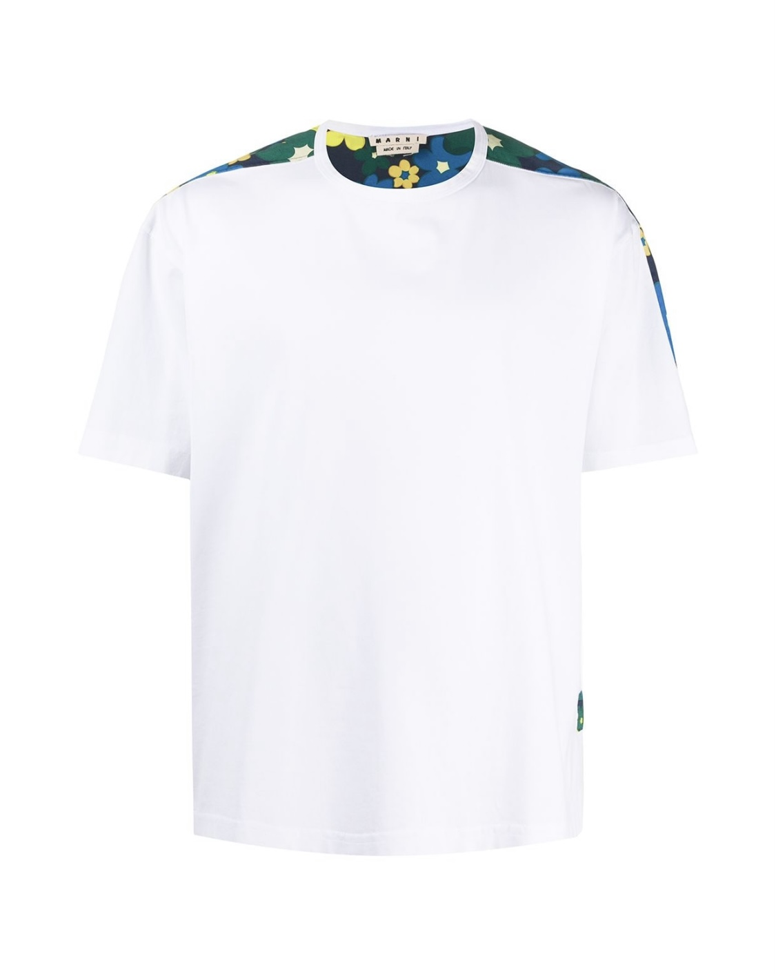画像1: M A R N I FLOWER PRINT Tshirt (1)